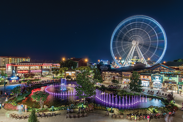 The Island in Pigeon Forge